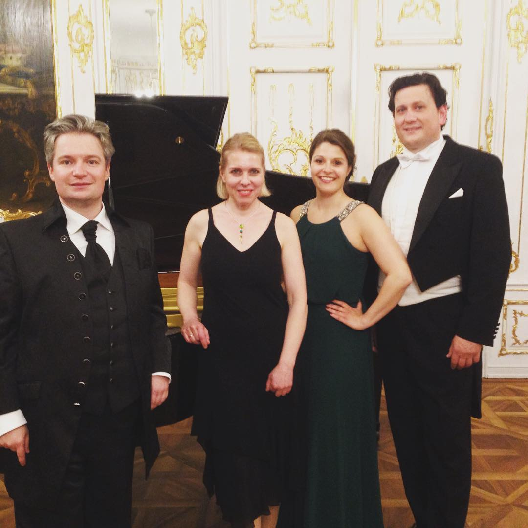 Happy after concert in Augsburg Rokokosaal